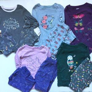 Girls 5T Pajama Lot